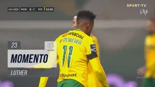 FC P.Ferreira, Jogada, Luther aos 23'