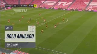 SL Benfica, Golo Anulado, Darwin aos 45'+1'