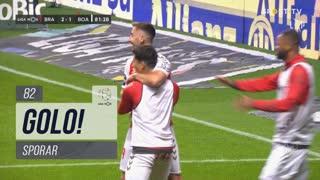 GOLO! SC Braga, Sporar aos 82', SC Braga 2-1 Boavista FC