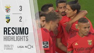 Liga NOS (3ªJ): Resumo SL Benfica 3-2 SC Farense
