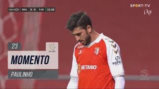 SC Braga, Jogada, Paulinho aos 23'