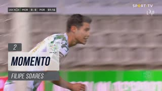 Moreirense FC, Jogada, Filipe Soares aos 2'