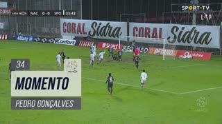 Sporting CP, Jogada, Pedro Gonçalves aos 34'