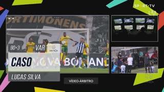 FC P.Ferreira, Caso, Lucas Silva aos 90'+3'
