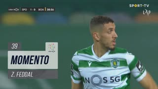 Sporting CP, Jogada, Z. Feddal aos 39'