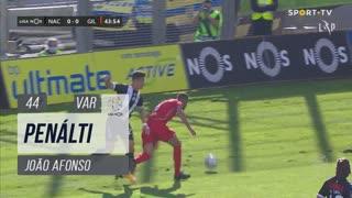 Gil Vicente FC, Penálti, João Afonso aos 44'