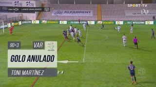 FC Porto, Golo Anulado, Toni Martínez aos 90'+3'
