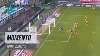 Sporting CP, Jogada, Nuno Santos aos 19'