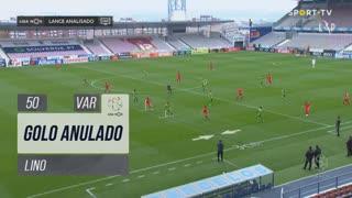 Gil Vicente FC, Golo Anulado, Lino aos 50'