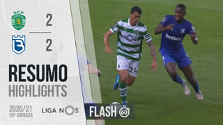 I Liga (28ªJ): Resumo Flash Sporting CP 2-2 Belenenses SAD