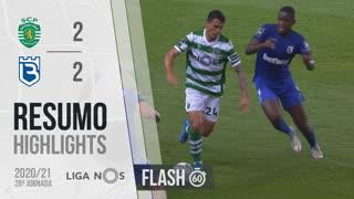Liga NOS (28ªJ): Resumo Flash Sporting CP 2-2 Belenenses SAD