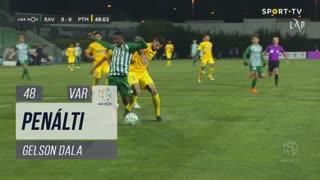 Rio Ave FC, Penálti, Gelson Dala aos 48'