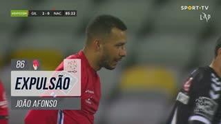 Gil Vicente FC, Expulsão, João Afonso aos 86'