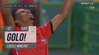 GOLO! Gil Vicente FC, Lucas Mineiro aos 52', Sporting CP 0-1 Gil Vicente FC