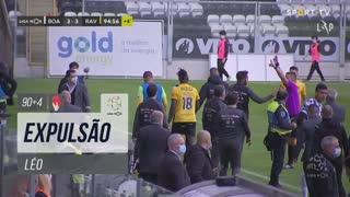 Rio Ave FC, Expulsão, Léo aos 90'+4'