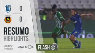 Liga NOS (7ªJ): Resumo Flash Belenenses SAD 0-0 Rio Ave FC