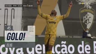 GOLO! Boavista FC, Elis aos 45', Portimonense 1-1 Boavista FC