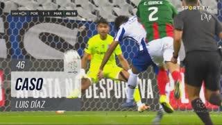 FC Porto, Caso, Luis Díaz aos 46'