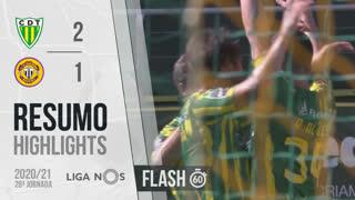 I Liga (28ªJ): Resumo Flash CD Tondela 2-1 CD Nacional
