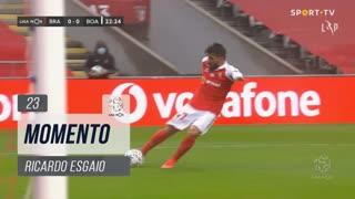 SC Braga, Jogada, Ricardo Esgaio aos 23'