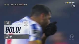 GOLO! FC Porto, Mehdi aos 25', FC Porto 1-1 SL Benfica