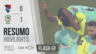 I Liga (14ªJ): Resumo Flash Gil Vicente FC 0-1 Marítimo M.