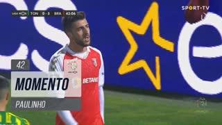 SC Braga, Jogada, Paulinho aos 42'