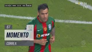 Marítimo M., Jogada, Correa aos 67'