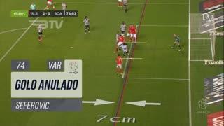 SL Benfica, Golo Anulado, Seferovic aos 74'