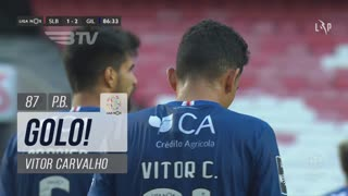 GOLO! SL Benfica, Vitor Carvalho (p.b.) aos 87', SL Benfica 1-2 Gil Vicente FC
