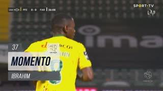 FC P.Ferreira, Jogada, Ibrahim aos 37'