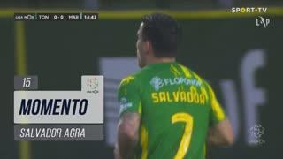 CD Tondela, Jogada, Salvador Agra aos 15'