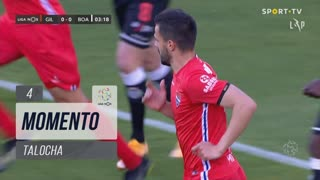 Gil Vicente FC, Jogada, Talocha aos 4'