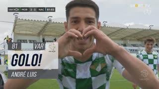 GOLO! Moreirense FC, André Luis aos 81', Moreirense FC 2-2 CD Nacional