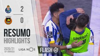 I Liga (16ªJ): Resumo Flash FC Porto 2-0 Rio Ave FC