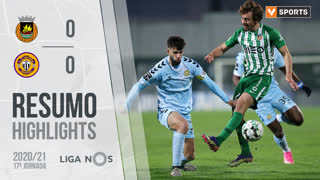 I Liga (17ªJ): Resumo Rio Ave FC 0-0 CD Nacional