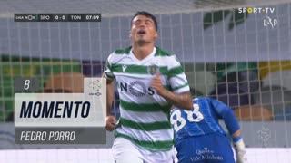 Sporting CP, Jogada, Pedro Porro aos 8'
