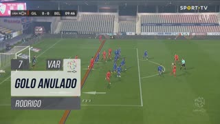 Gil Vicente FC, Golo Anulado, Rodrigo aos 7'