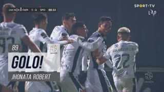 GOLO! FC Famalicão, Jhonata Robert aos 89', FC Famalicão 2-2 Sporting CP