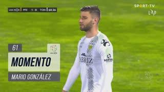 CD Tondela, Jogada, Mario González aos 61'