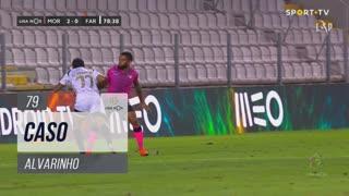SC Farense, Caso, Alvarinho aos 79'