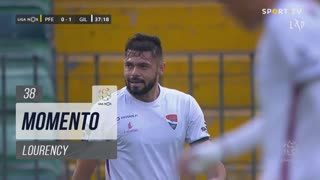 Gil Vicente FC, Jogada, Lourency aos 38'