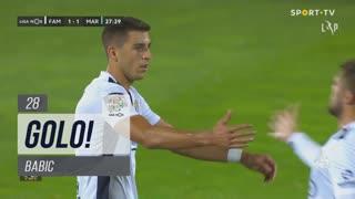 GOLO! FC Famalicão, Babic aos 28', FC Famalicão 1-1 Marítimo M.