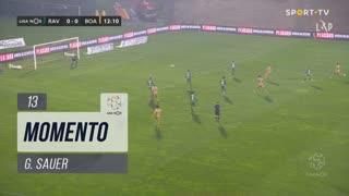 Boavista FC, Jogada, G. Sauer aos 13'