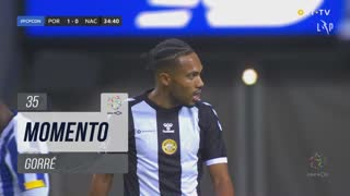 CD Nacional, Jogada, Gorré aos 35'
