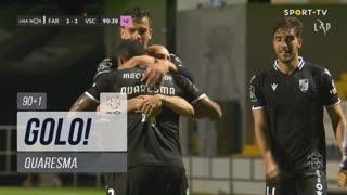 GOLO! Vitória SC, Quaresma aos 90'+1', SC Farense 2-2 Vitória SC