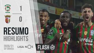 Liga NOS (30ªJ): Resumo Flash Marítimo M. 1-0 SC Braga