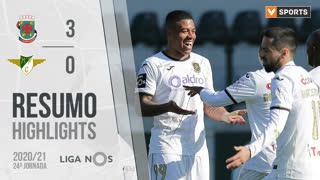 Liga NOS (24ªJ): Resumo FC P.Ferreira 3-0 Moreirense FC