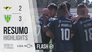 Liga NOS (27ªJ): Resumo Flash Moreirense FC 2-3 CD Tondela