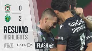 Liga NOS (17ªJ): Resumo Flash Marítimo M. 0-2 Sporting CP